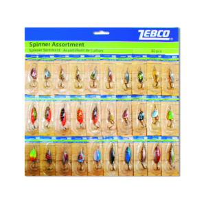 Zebco Spinners Asst Card - Lewcal Wholesale