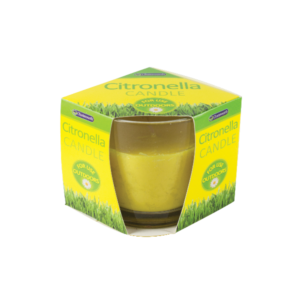 Citronella Glass Candle - Lewcal Wholesale