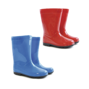 Kids Plain PVC Wellies