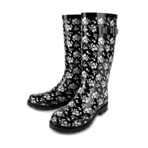 Ladies Floral Wellies