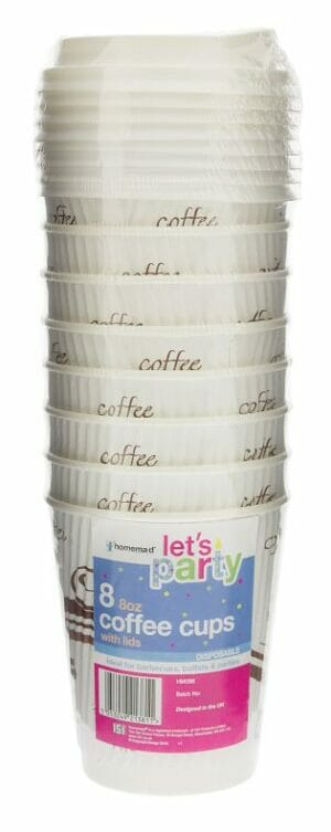 Disposable Coffee Cup 8pk