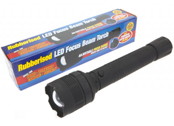 Large Rubber Torch