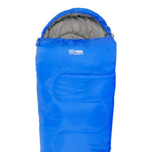 SB035 Mummy Sleeping Bag Royal Blue