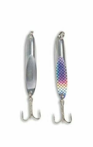 Wedge Stainless Steel Fishing Lure